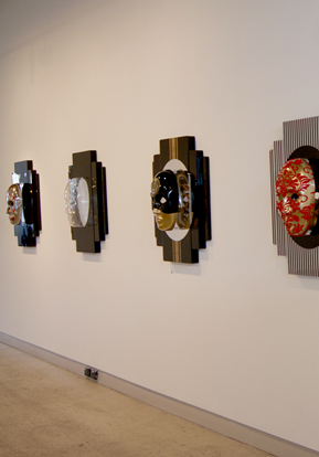 MASKS FOR THE MODERN TRIBE installation view