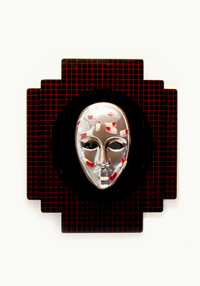 """MASKS FOR THE MODERN TRIBE (sleep mask)"""